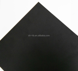 hot sale embossed black PVC rigid sheet