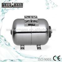 50L,60L,80L,100L Horizontal stainless steel air pressure tanks