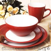 Elegante modernen Designs haushalt geschirr-sets keramik ...