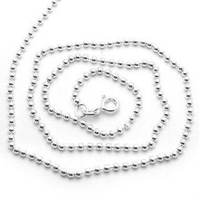 2011 white gold plated 925 silver chain