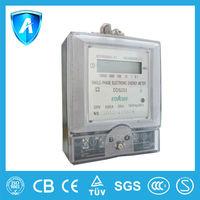 Digital kilowatt hour meter with CE certification