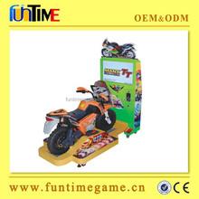 Popular 22 inch LCD kids video TT motorbike,motorcycle game machine FT-KSM021