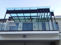 glass sunroom panels