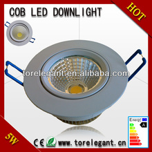 high lumen battery operated led downlights