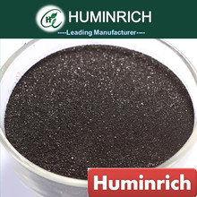 Huminrich Humate Seeds Growing Potassium Humate Black Shiny Flaky Powder