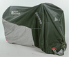 Custom plastic rain protection two and three wheel TOP motorcycle seat cover