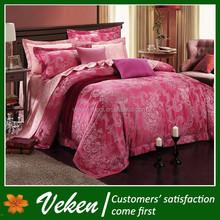 Quick Delivery Item No.D-187 80S*120S 1200TC Applique Egyptian Cotton Bed Sheet