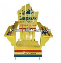 wooden beach chair, relaxing garden chair
