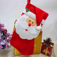 Cheap Christmas Santa Hanging Socks