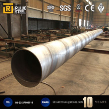 welded Spiral steel Pipe/High Precision Spiral steel Pipe