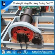 Overseas Service Powered Gas Engine Winch For Engineering