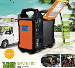 Car jump starter car dual usb charger battery booster multi-functon car jump starter battery jump starter 12v/24V power bank