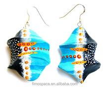 Fashion Jewelry Tropical Custom Polymer Earring