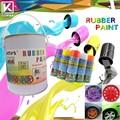 venta caliente de color azul peelable extraíble de goma capa de pintura de inmersión plasti