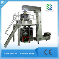 High capacity automatic ice candy food packaging filling and sealing machine price