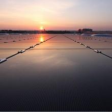 Hanergy 90KW solar module system grid tie solar system solar electric system