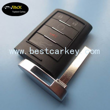 Best price 4+1 button remote car key for cadillac remote key car remote key with 315 MHZ