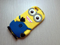 3D Despicable Me 2 Minions Case For Iphone 6 Plus Case Silicone Cartoon