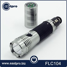Top sale emergency tool 12v rechargeable led car flashlight