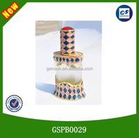 2014 wholesale newest luxurious custom made glass perfume bottles gold alloy aluminium perfume bottle bulk perfume bottles