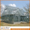 Prefab light steel living modern house design