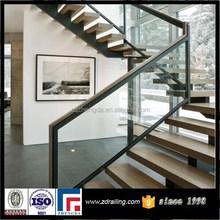 interior door stair glass railing
