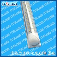 SMD 2835 T8 V shaped Integrated LED tube light fluorescent lamp 60W=8ft 85-265V led tubes warranty 3 years