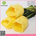 Tulip artificiales de la boda el arreglo de flores, tulip flor artificial de la pantalla