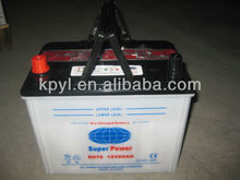 dry charged car battery for Japanese car