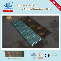 Soncap Certificate Nigeria hot sale roof shingle for house / stone coated roof tile/roof tile manufacturer