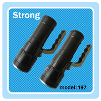 High quality 3W hand crank torch light rechargeable flashlight