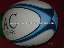 Promotional Rugby Ball Rubber Synthetic