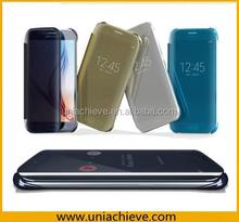 Plating dormancy cases for Galaxy S6/S6 edge , latest design case for samsung s6/S6 edge