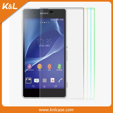 high quality screen protector phone for SONY Xperia tipo ST21iwith high quality premium tempered glass screen protector
