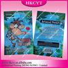 Colorful design herbal incense bag/crazy monkey 5g spice potpourri bag with zipper