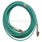 Om3 Duplex LC / UPC-LC / UPC de fibra óptica Patch Cord