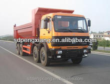 8*4 8.2m U style hopper tipper truck (Beiben Chassis)