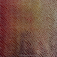 Glitter leather fabric for decoration