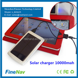 1.5W polymer cell solar panel portable 2.1a 1a dual outputs solar cell phone charger ODM accepted