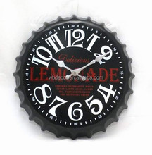 New pattern Kitchen Wall Clock with Beer Lid Shape