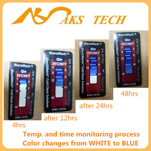 Warmmark 2 OEM Temperature Activated Color Changing Label card
