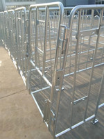 farme supply metal cage for pig feeding use