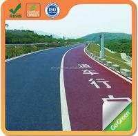 Nature asphalt cycling track cold mix color asphalt manufacturer