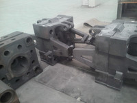 Injection molding machine parts cast iron