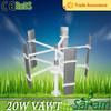 Household mini 20W 12V 24V wind turbine for electricity