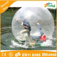 new design crazy and durable giant inflatable water bubble ball/water walking ball