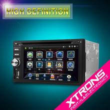 "TD608GT: 6.2"" Double Din Car Radio with GPS DVD"