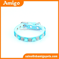 china luxury secure dog collars