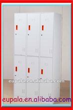 2012 new metal furniture 6 compartment locker