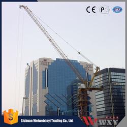 Stationary/Traveling/Climbing hammer head tower crane